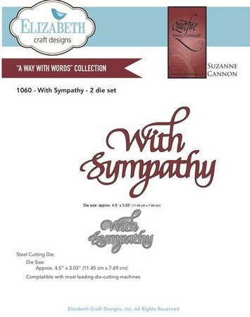Elizabeth Craft Design - With Sympathy