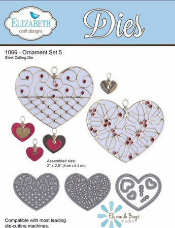 Elizabeth Craft Design - Ornament Set 5