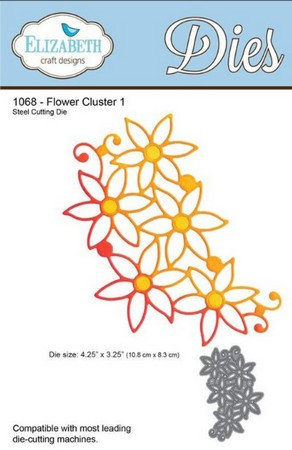 Elizabeth Craft Design - Flower Cluster 1
