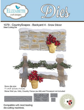 Elizabeth Craft Design - Backyard 4 Snow D_cor