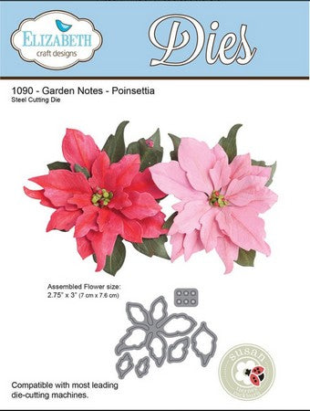 Elizabeth Craft Design - Poinsettia-1