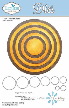 Elizabeth Craft Design - Fitted Circles