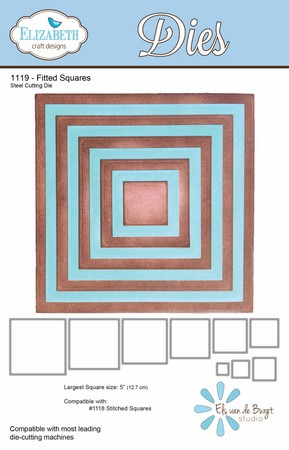 Elizabeth Craft Design - Fitted Squares