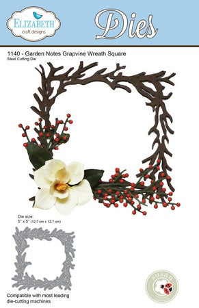 Elizabeth Craft Design - Grapevine Wreath Square