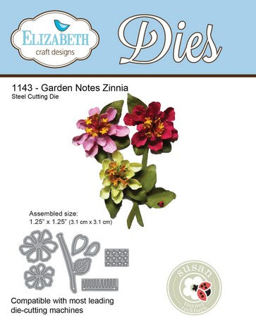 Elizabeth Craft Design - Zinnia