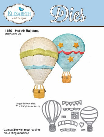 Elizabeth Craft Design - Hot Air Balloons