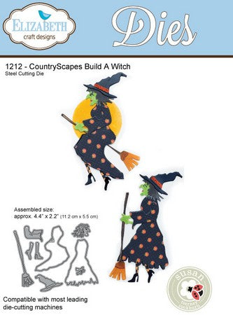 Elizabeth Craft Design - Build A Witch