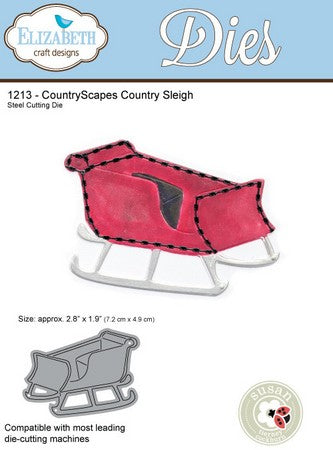 Elizabeth Craft Design - Country Sleigh