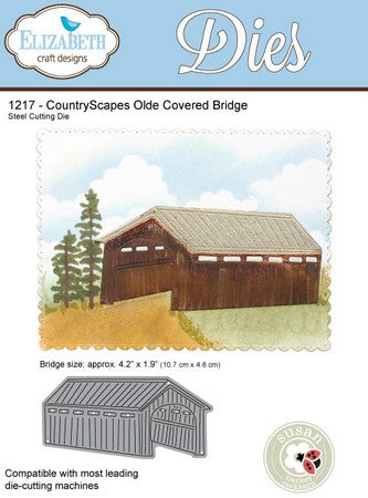 Elizabeth Craft Design - Olde Covered Bridge