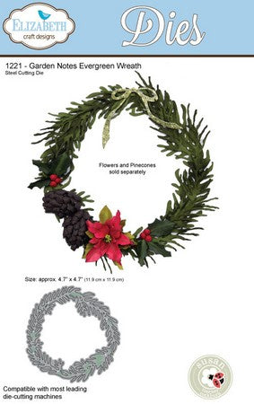 Elizabeth Craft Design - Evergreen Wreath