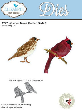 Elizabeth Craft Design - Garden Birds 1