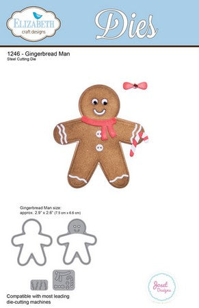 Elizabeth Craft Design - Gingerbread Man