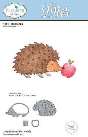 Elizabeth Craft Design - Hedgehog