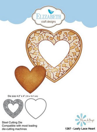 Elizabeth Craft Design - Leafy Lace Heart