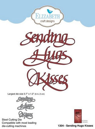 Elizabeth Craft Design - Sending Hugs Kisses