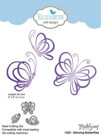 Elizabeth Craft Design - Dancing Butterflies