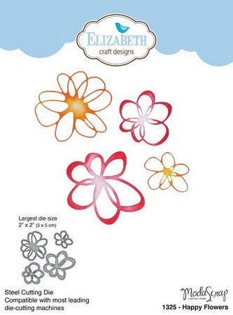 Elizabeth Craft Design - Happy Flowers