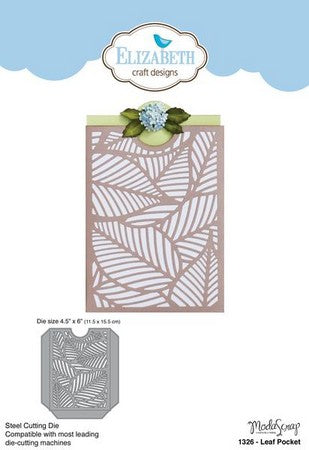Elizabeth Craft Design - Leaf Pocket