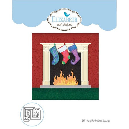 Elizabeth Craft Design - Hang the Christmas Stockings