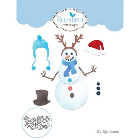 Elizabeth Craft Design - Stylish Snowman