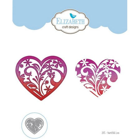 Elizabeth Craft Design - Heartfelt Love