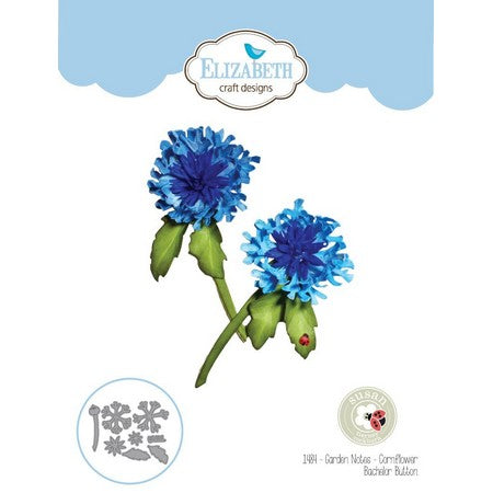 Elizabeth Craft Design - Cornflower Bachelor Button