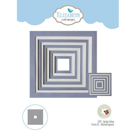 Elizabeth Craft Design - Frame It Stitched Squares