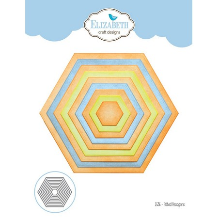 Elizabeth Craft Design - Fitted Hexagons