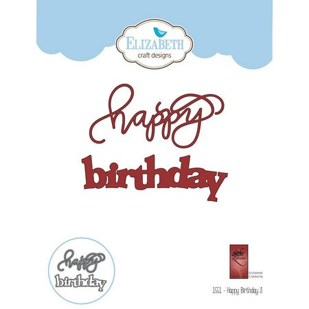 Elizabeth Craft Design - Happy Birthday-2