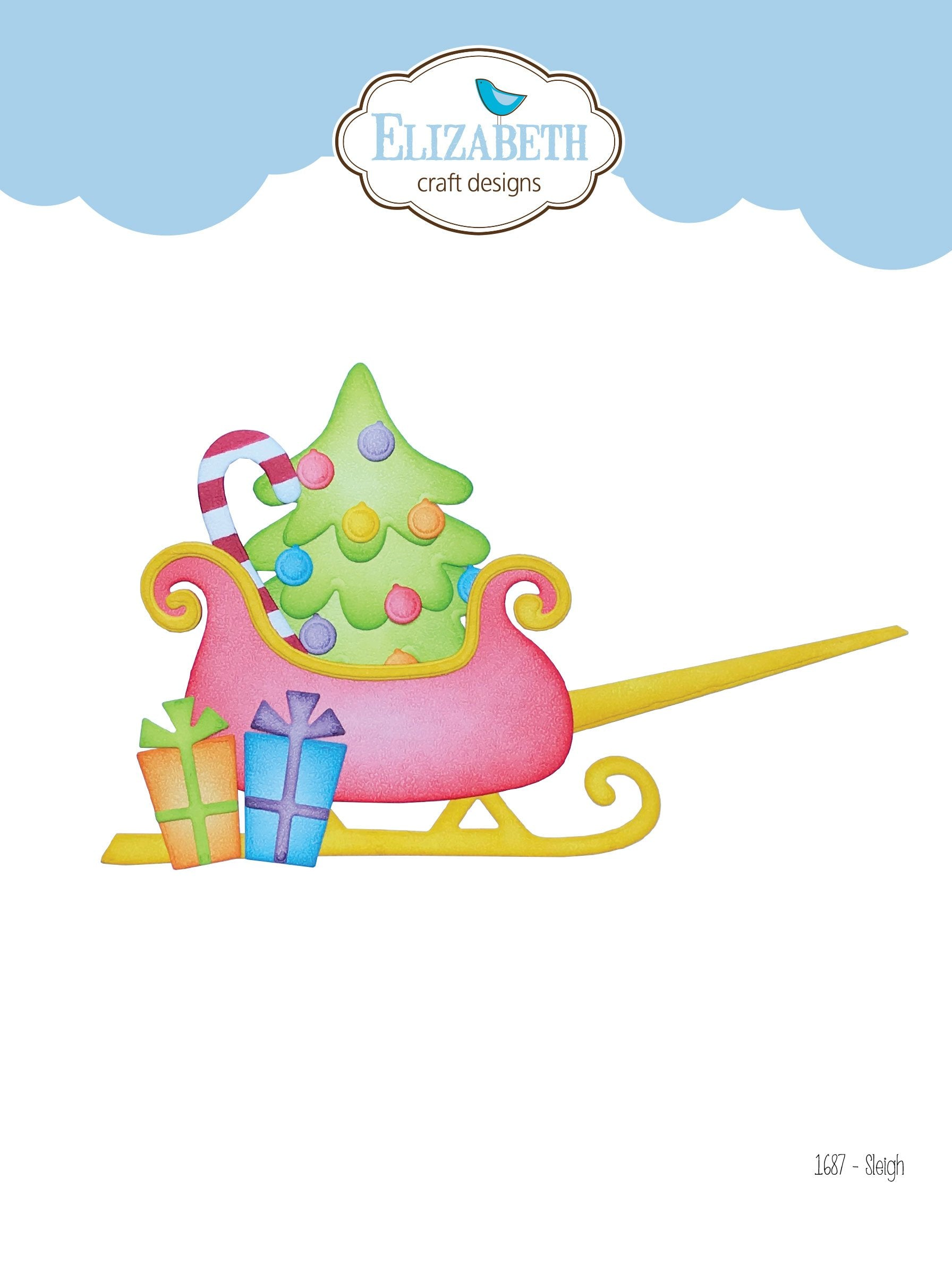 Elizabeth Craft Designs - Dies - Sleigh