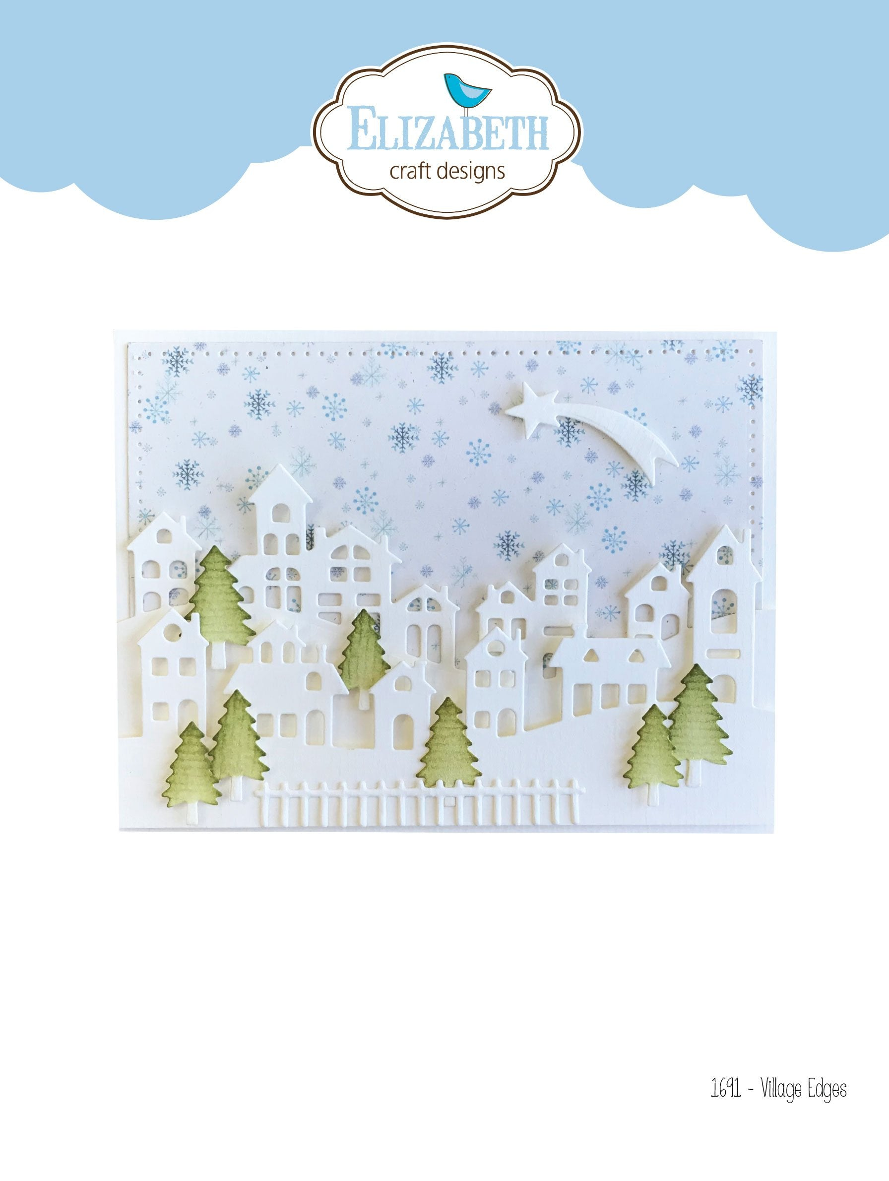 Elizabeth Craft Designs - Dies - Village Edges