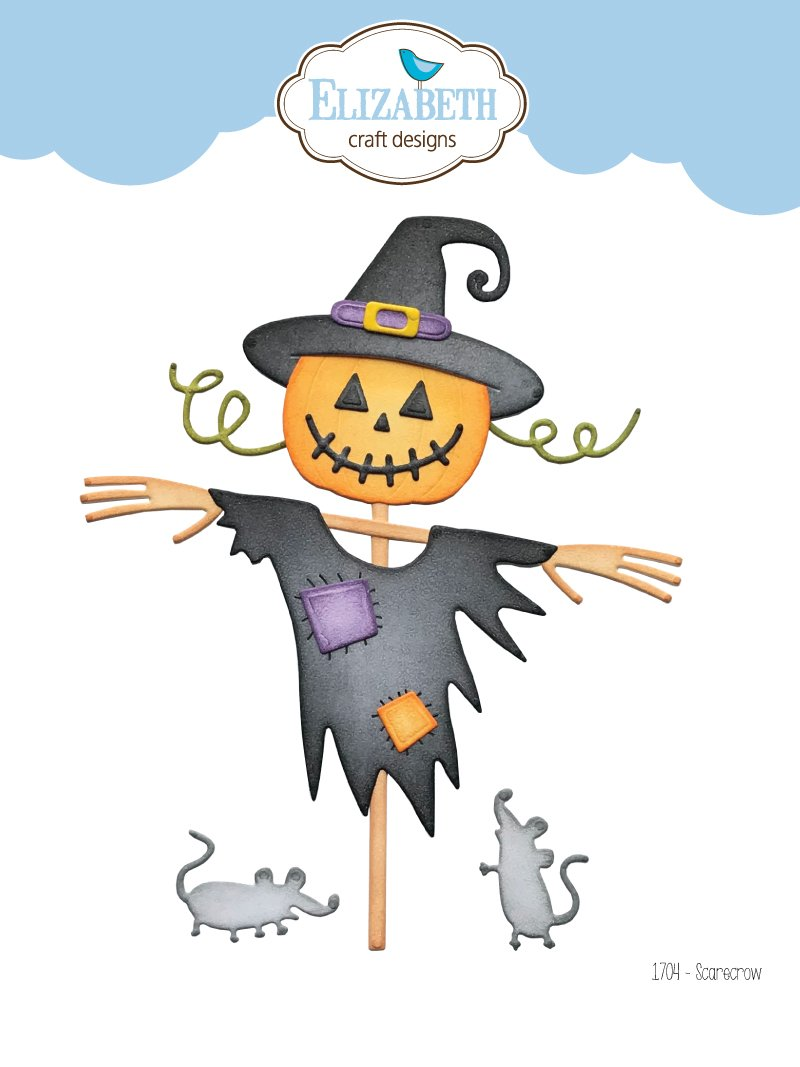Elizabeth Craft Designs - Dies - Scarecrow