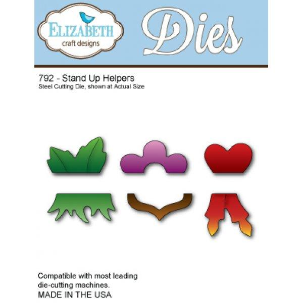 Elizabeth Craft Designs - Dies - Stand Up Helpers