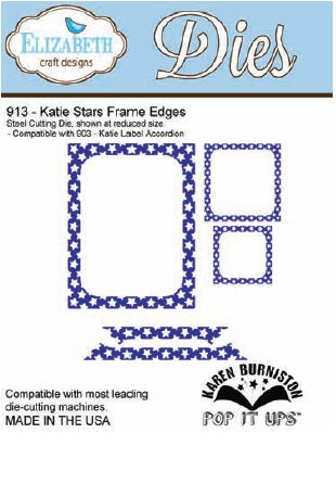Elizabeth Craft Design - Katie Stars Frame Edges