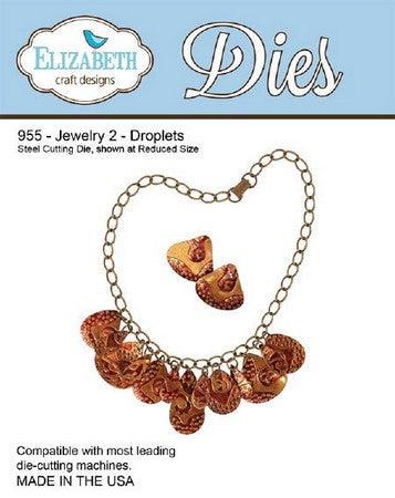 Elizabeth Craft Design - Jewelry 2 - Droplets
