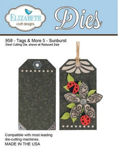 Elizabeth Craft Design - Tags & More 5 - Sunburst