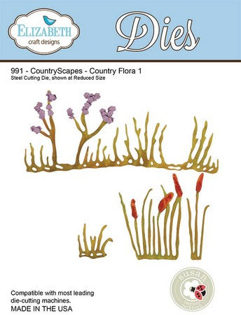 Elizabeth Craft Design - CountryScapes - Country Flora 1