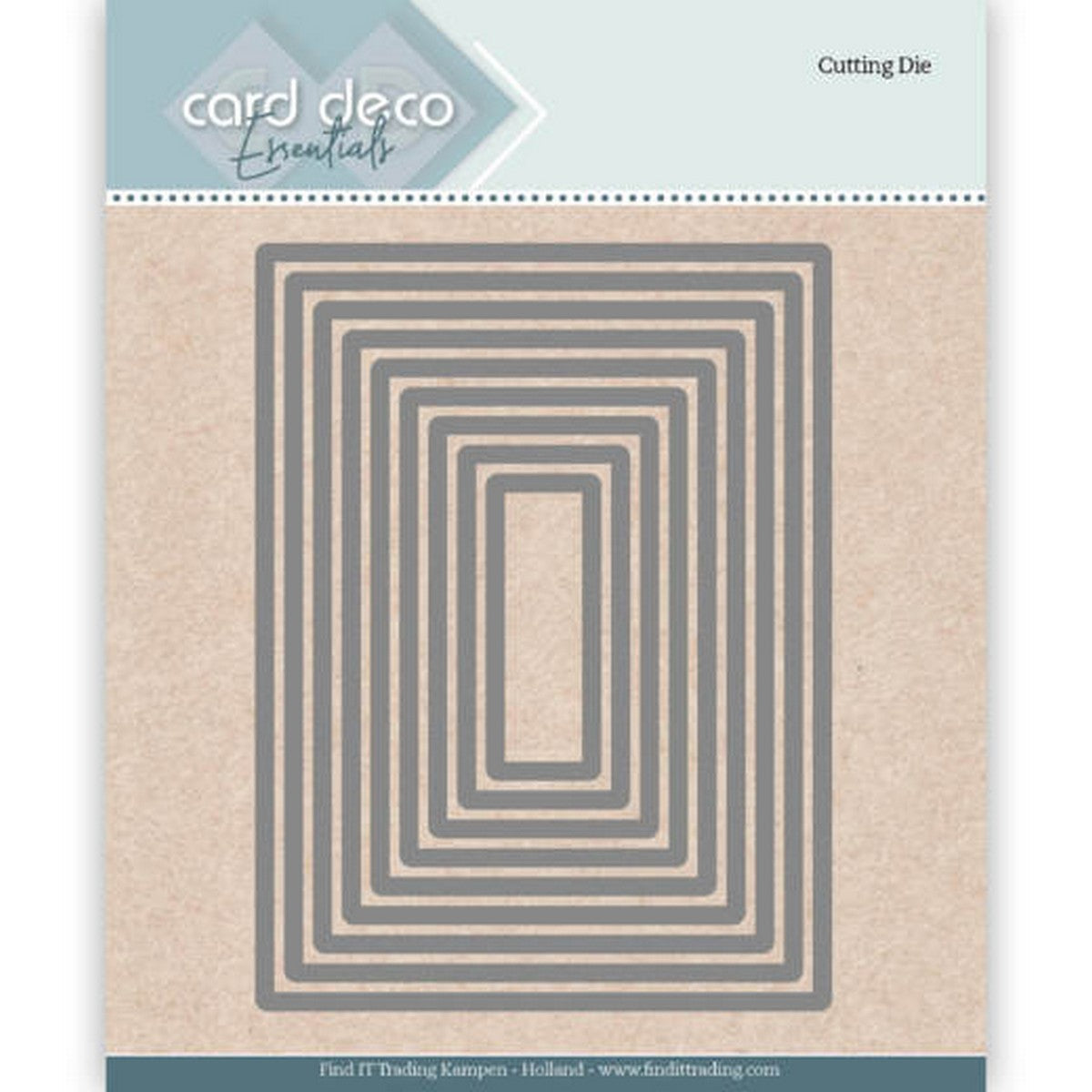 Card Deco - Rectangle Nesting Dies