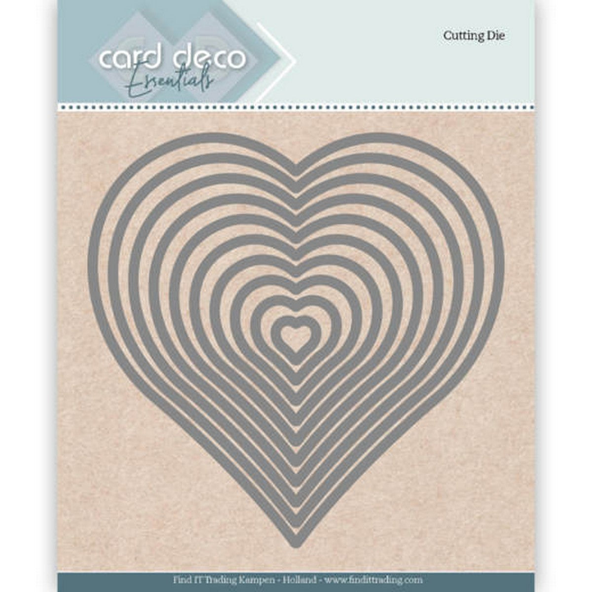 Card Deco - Heart Nesting Dies