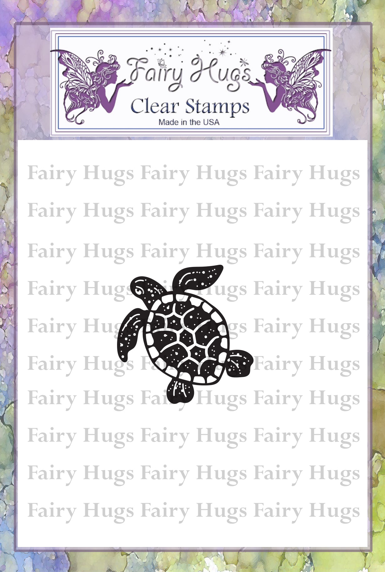Fairy Hugs Stamps - Mini Turtle