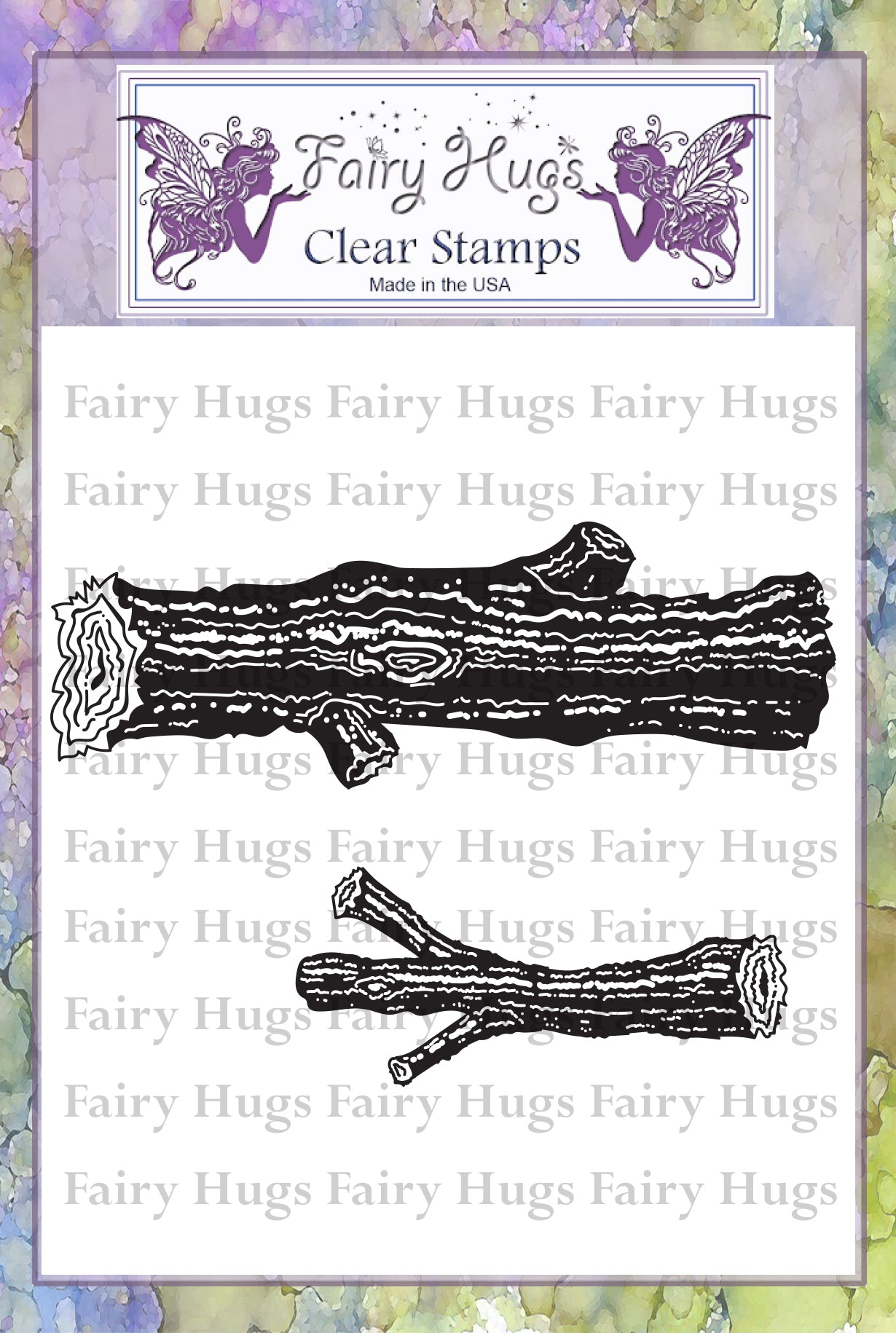 Fairy Hugs Stamps - Logs