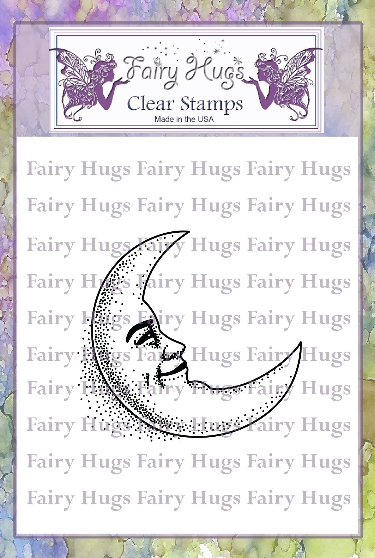 Fairy Hugs Stamps - Happy Moon