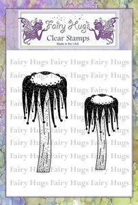 Fairy Hugs Stamps - Jester Mushrooms