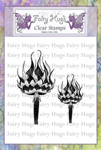 Fairy Hugs Stamps - Chess Mushrooms