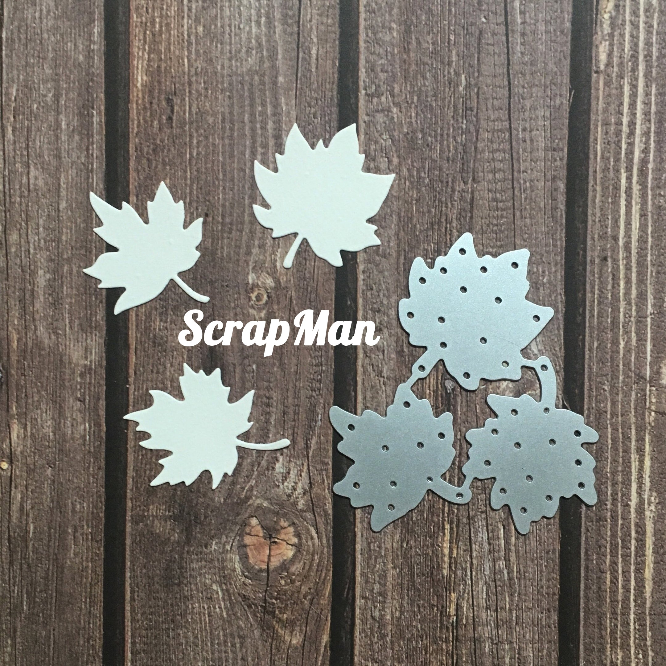 Scrapman - Dies - Maples Leaves 1