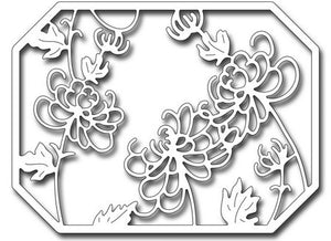 Frantic Stamper - Chrysanthemum Panel