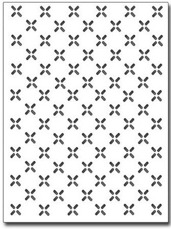 Frantic Stamper - Diamond Plate Card Panel