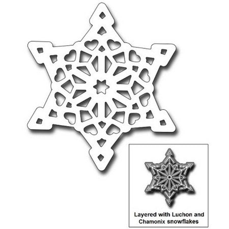 Frantic Stamper - Courchevel Snowflake