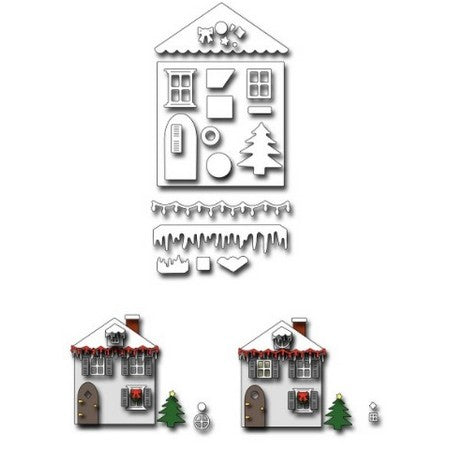 Frantic Stamper - Christmas House