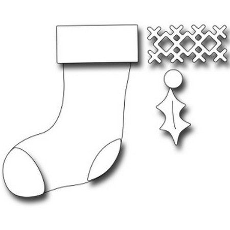 Frantic Stamper - Christmas Stocking